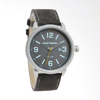 Hush Puppies Analog Jam Tangan Pria - Black [HP.3841M.2503]