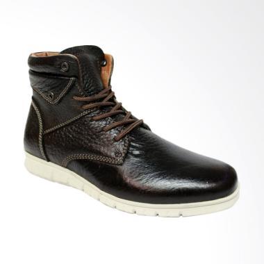 Dr.Faris Footwear tpr pth 4027 Sepatu Kulit Casual Boots