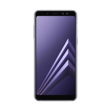 Samsung Galaxy A8 Plus 2018 Smartphone - Orchid Grey [64GB/6GB]