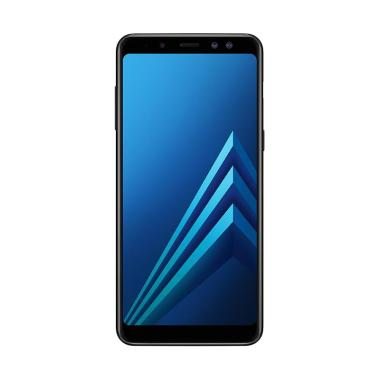 Samsung Galaxy A8 Plus 2018 Smartphone - Black [64 GB/6 GB]