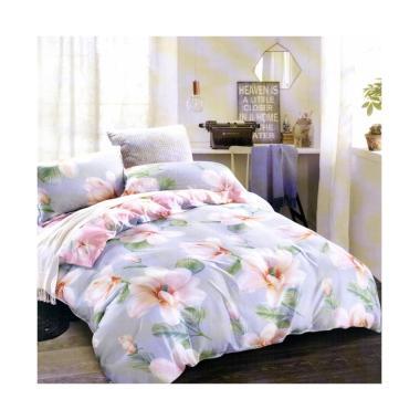 Melia Bedsheet S-0254 Sutra Organic Set Sprei - Flower Print