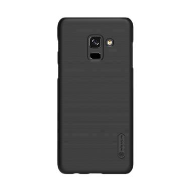 Nillkin Frosted Hardcase Casing for ... A8 Plus 2018 Duos - Black