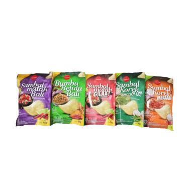 Rasa Lokal Paket Keripik Singkong [5 pcs]