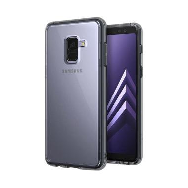 Ringke Fusion Casing for Samsung Galaxy A8 Plus 2018 - Smoke Black