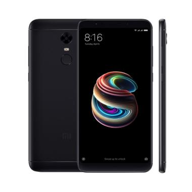 Xiaomi Redmi 5 Plus - RAM 4GB/64GB  ... LACK BONUS Sarung Softgel