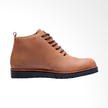 Brodo Signore Vintage Mid Cuts Boots - Brown Black