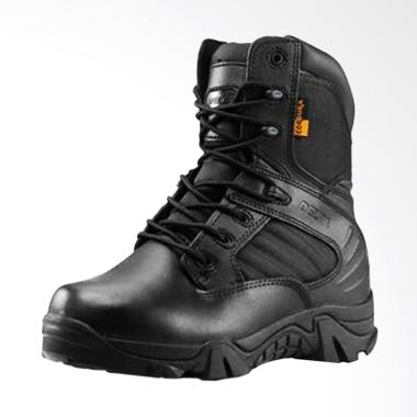 Delta Safety & Tactical Boots Pria - Hitam