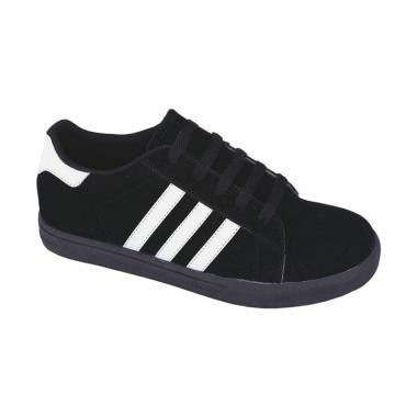 Syaqinah 003 Sepatu Sneakers Anak Laki-Laki - Hitam