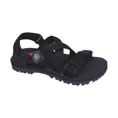 Syaqinah 100 Sandal Anak Laki-Laki - Hitam