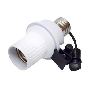 Yangunik Fitting Lampu Sensor Cahaya Otomatis - Putih