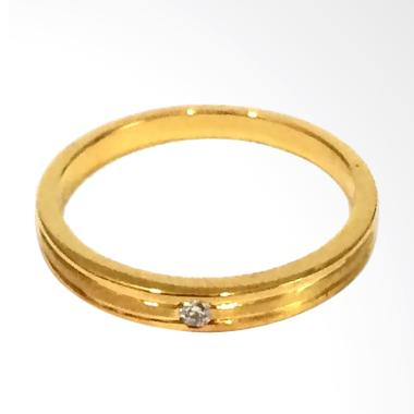 Pentacles FC02329 Wedding Ring Yellow Gold With Diamond