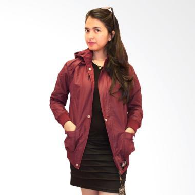 REBEL ID Casual Jacket Ladies - Maroon