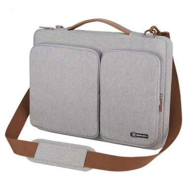 harga Tas Laptop / Macbook BRINCH Grey Executive Long Strap 13 14 inch gray Blibli.com