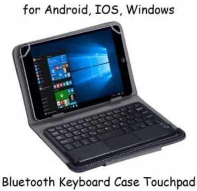 harga Universal Keyboard Bluetooth Touchpad Tablet 9 10 Inch Android Ios windows Blibli.com