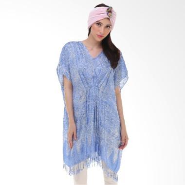 Anakara Staco Kaftan batik Wanita - Blue