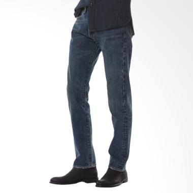 Levi's 501 Original Fit Jeans Pria - In My Eyes Blue [00501-2483]