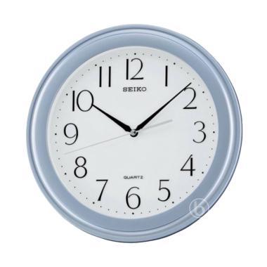 Jual SEIKO QXA637S Quiet Sweep Wall Clocks Jam Dinding - Silver  32 ... fcf0834e16