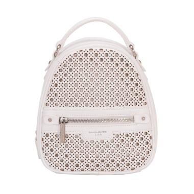 David Jones CM3775 Mini Backpack Wanita - White