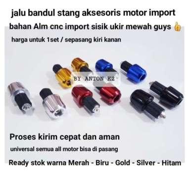harga JALU STANG MOTOR-BANDUL STANG AKSESORIS VARIASI MOTOR MODEL SISIK UKIR - Gold, All Size Multicolor Blibli.com