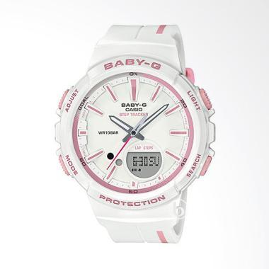 CASIO Baby-G BGS-100RT-7A Glamorous ... angan Wanita - White Blue