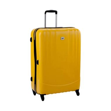 Cat Turbo Spinner Luggage Trolley Bag - Cat Yellow [28 inch]