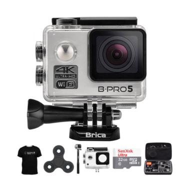 Brica B-PRO 5 AE Mark II AE2 Combo  ... in Action Camera - Silver