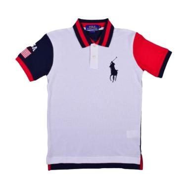 POLO RALPH LAUREN Classic Fit Polo  ... y R.L Red - W66A3DEN4JP -