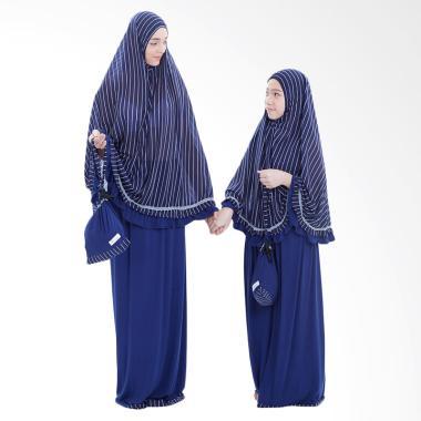 Boontie Mukena Syar'i Couple - Salur Navy