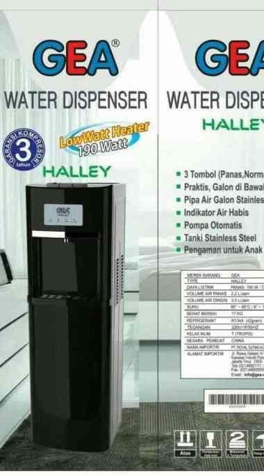 harga GEA Water Dispenser HALLEY MULTICOLOR Blibli.com