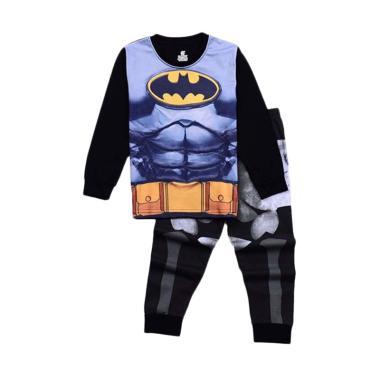 chloe's clozette Batman Kode PJ-89 Piyama Setelan Baju Tidur Anak