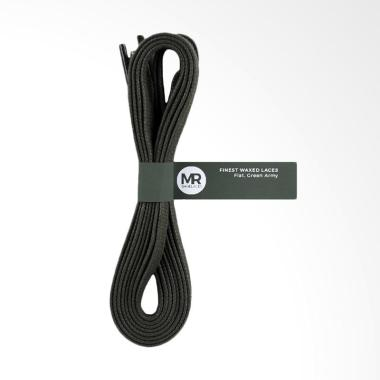 Mr.Shoelaces Lilin Gepeng Tali Sepatu - Green Army [6-7 mm/