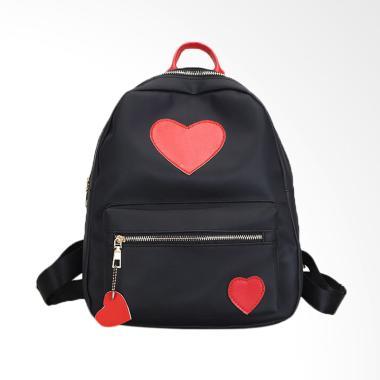 Lansdeal Fashion Backpack Women Leisure Travel Tas Wanita - Red