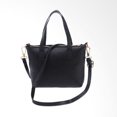 Women Fashion Handbag Tas Wanita - Black