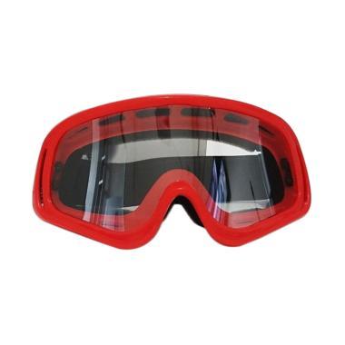 Goggle MX Kacamata Motocross - Merah