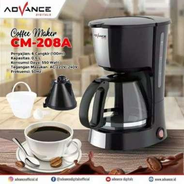 harga Cofee maker Advance CM 208A mesin pembuat kopi (Kode zk 010)) multicolor Blibli.com