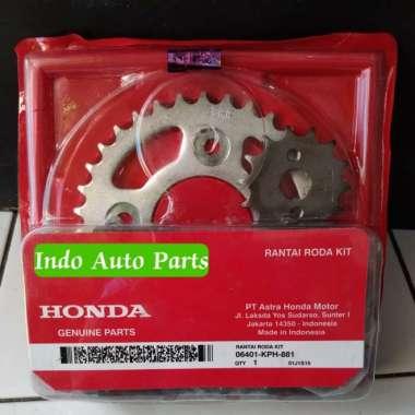 Gear Set Rantai Paket Honda Supra X 125 KPH Multicolor