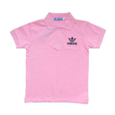 LittleMe Adidas Polo T-shirt Anak Laki-Laki - Pink
