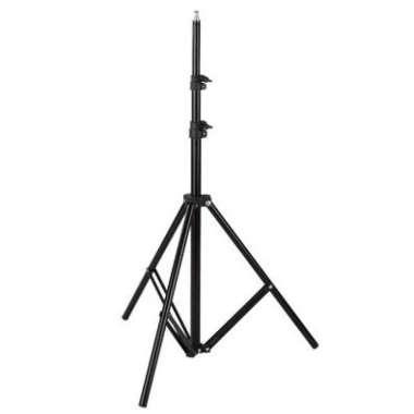 harga TaffSTUDIO Portable Lighting Stand Tripod 3 Section 200cm - SN303 Hitam Blibli.com