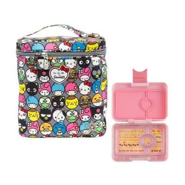 JUJUBE for Sanrio Fuel Cell Hello F ... o Kotak Makan Anak - Pink