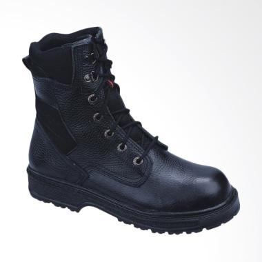 Recommended Sepatu Safety Boots Pria - Hitam [525RCM]