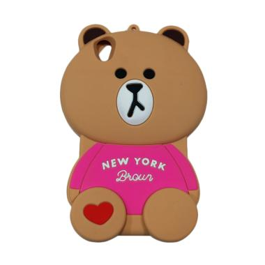 QCF Silikon 3D Vivo Y51 Beruang New ... Free 1pcs Tempelan Gurita