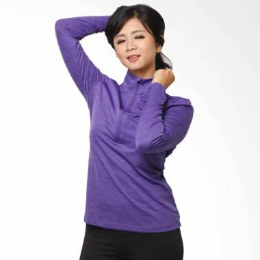 UNDER ARMOUR Sweat LongSleeve Zipper Baju Olahraga Wanita [04UAT00010]