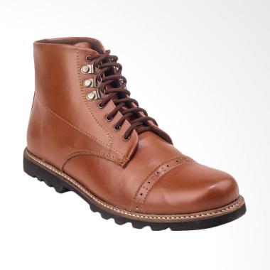 Daftar Harga Sepatu Boots Kulit Asli Pria Giant Flames Terbaru Maret ... b41d87594c