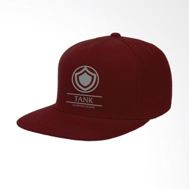 IndoClothing Mobile Legends Tank Topi Snapback Pria - Maroon