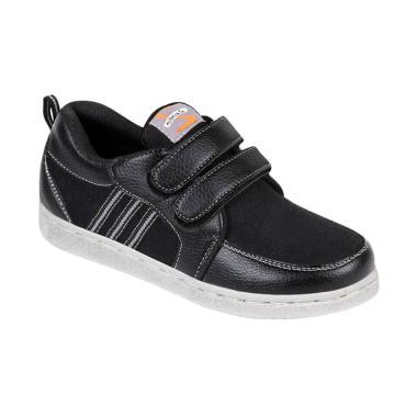 Zeintin ZSAL01 Sepatu Anak Laki - Hitam