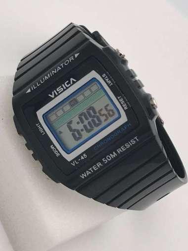 Jam tangan digital segi anak remaja anti air visica skmei casio