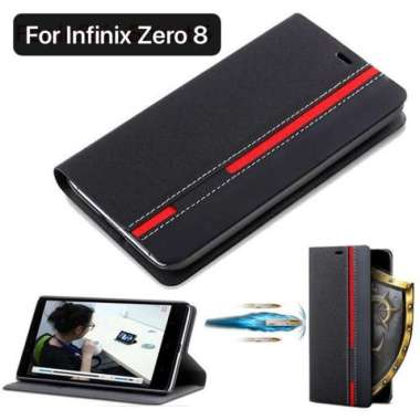 harga Case Infinix Zero 8 Flip Cover Walet Dompet Handphone Silikon Casing - Biru ada Multicolor Blibli.com