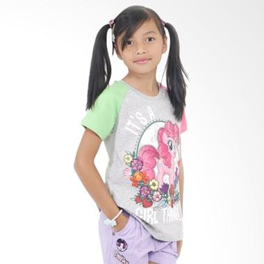 Kids Icon My Litlle Pony Raglan T-Shirt Anak Perempuan