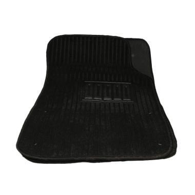 Bonform Straight Car Mat - Black [Japan Import]
