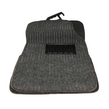Bonform 6369-09GR Car Mat Straight Karpet Mobil - Grey [Japan Import]